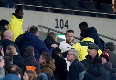 E. Dieris po pralaimėjimo FA taurėje įsivėlė į konfliktą su savo komandos fanais