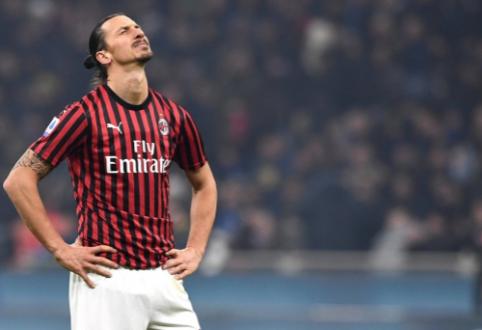 """Z. Ibrahimovičius kitą sezoną """"Milan"""" klube nežais"""