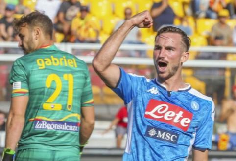 """""""Liverpool"""" sudarys konkurenciją kovoje dėl F. Ruizo parašo"""