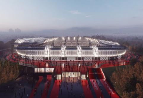 Stadiono statybų startas – dar arčiau