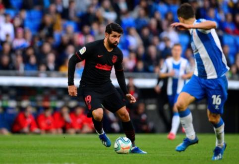 """""""La Liga"""": """"Atletico"""" prarado taškus Barselonoje, """"Sevilla"""" išsigelbėjo per pridėtą laiką"""