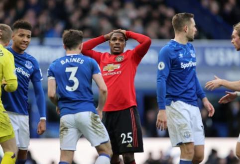 """Anglijoje – antra paeiliui """"Tottenham"""" nesėkmė bei dramatiškos """"Man Utd"""" ir """"Everton"""" lygiosios"""