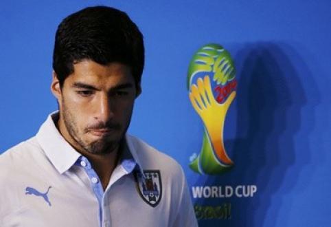 L.Suarezas sulaukė bausmės - keturi mėnesiai be futbolo