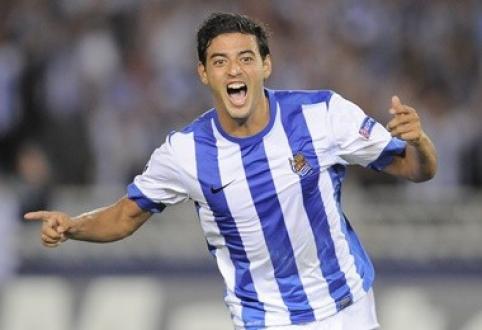 "C.Vela įsipareigojo ""Real Sociedad"" klubui"