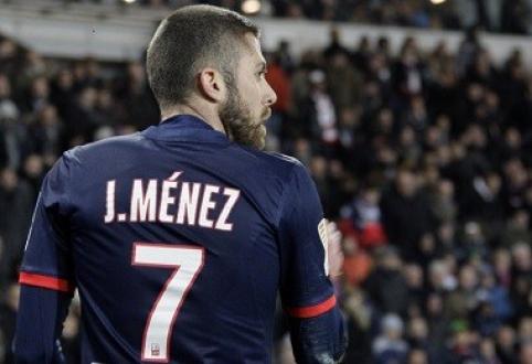 """PSG saugas J.Menezas keliasi į """"Milan"""""""