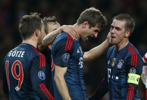 """Su """"Bayern"""" klubu sutartis pratęsė T.Mulleris ir P.Lahmas"""