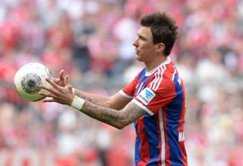 """M.Mandžukičius patvirtino, kad šią vasarą paliks """"Bayern"""" klubą"""
