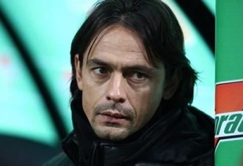 """F.Inzaghi: esu pasiruošęs tapti """"Milan"""" komandos treneriu"""
