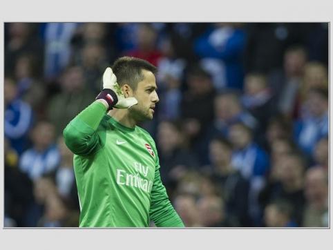"""""""Arsenal"""" vartų sargas L.Fabianski karjerą tęs """"Swansea"""" ekipoje"""