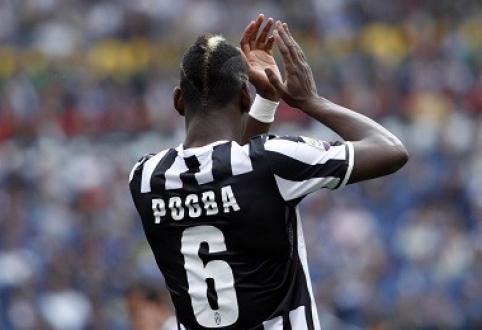 """""""Chelsea"""" nori įsigyti """"Juventus"""" saugą P.Pogbą"""
