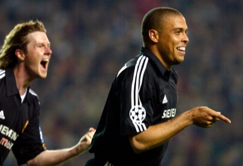 Ronaldo išvardino penkis jam įspūdį paliekančius žaidėjus