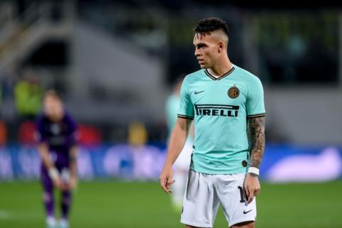 """L. Suarezas: """"Martinezui nereikėtų skubėti palikti """"Inter"""""""