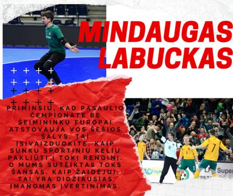 """M. Labuckas: """"Vietos tobulėti yra dar pakankamai daug"""""""
