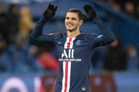 """PSG sutiko sumokėti """"Inter"""" prašomą kainą už M. Icardi"""