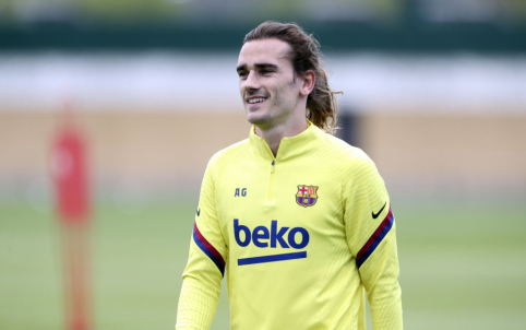 """Barcelona"" apsisprendė dėl A. Griezmanno ateities"