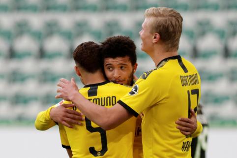 """Vokietijoje – """"Borussia"""" ir """"Bayer"""" ekipų pergalės"""