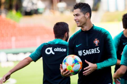 C. Ronaldo sugalvojo, kaip pasiekti didesnį greitį aikštėje