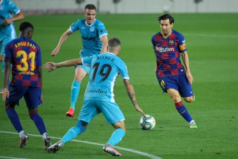 Įvarčio šventimu L. Messi pagerbė K. Kolumbą?