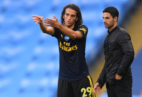 """M. Guendouzi šią vasarą gali palikti """"Arsenal"""""""