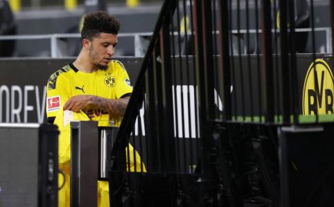 """""""Man Utd"""" už J. Sancho nesiūlys daugiau nei 55 mln. eurų"""