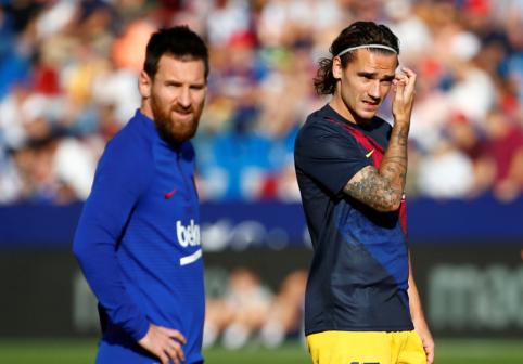 """Problemas kumščiais spręsti pasiūlęs buvęs """"Barcelona"""" puolėjas: """"Griezmannui nereikėtų išsigąsti autisto Messi"""""""