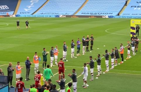 """Buvusių ir esamų čempionų akistata: """"Man City"""" – """"Liverpool"""" (startinės sudėtys)"""