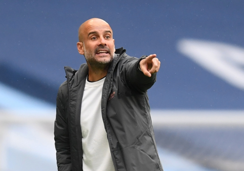 "Oficialu: ""Man City"" pratęsė kontraktą su P. Guardiola"