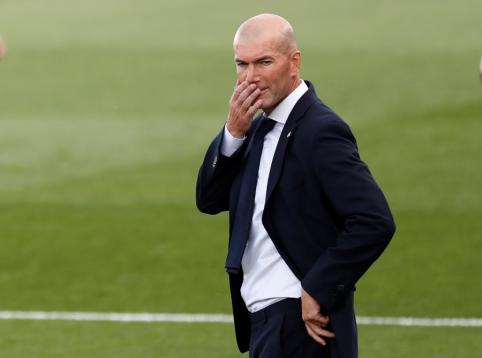 Dar vieną fiasko patyręs Z. Zidane'as išgirdo klausimą apie atsistatydinimą