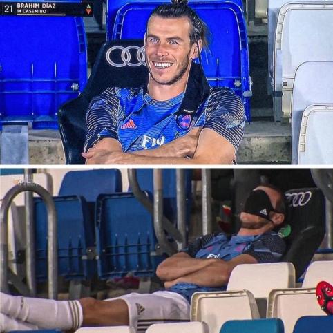 G. Bale'as pamato paskutinį keitimą ir nusprendžia pasnausti