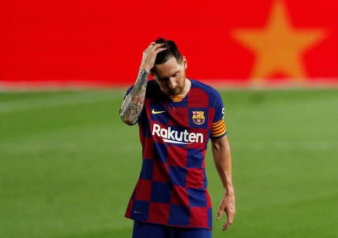 """L. Messi dėl traumos praleis rungtynes su """"Eibar"""""""