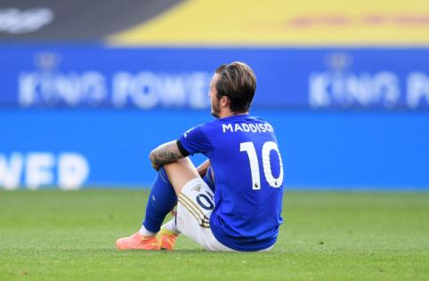 """Į mūšį prieš """"Man Utd"""" """"Leicester"""" vyks be trijų žaidėjų"""