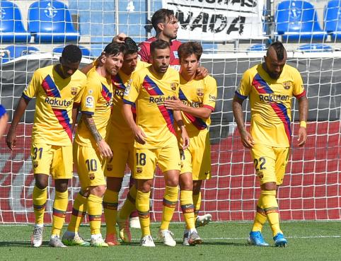 """""""Barcelona"""" komandoje – koronaviruso atvejis"""