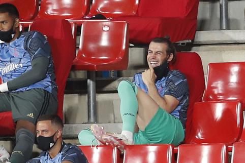 """Z. Zidane'as: """"Bale'as pats nusprendė nežaisti"""""""