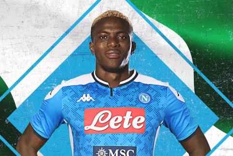 """Oficialu: """"Napoli"""" už 50 mln. eurų įsigijo """"Lille"""" puolėją"""