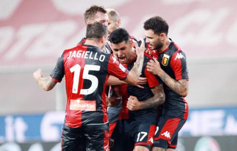 """""""Genoa"""" išsaugojo vietą """"Serie A"""" pirmenybėse"""