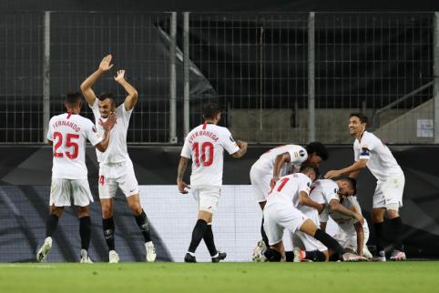 """""""Man Utd"""" baigė savo žygį Europos lygos turnyre"""