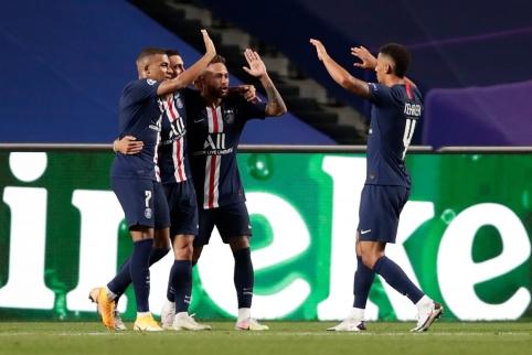 PSG be didesnio vargo žengė į Čempionų lygos finalą