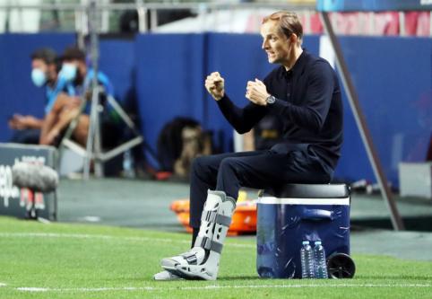 T. Tuchelis po pralaimėjimo ČL finale džiaugėsi savo komandos žaidimu