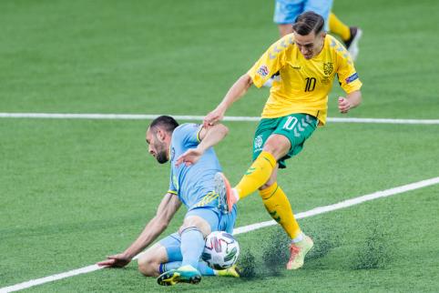 Be staigmenų: Lietuvos rinktinė pasirodymą Tautų lygoje pradėjo nesėkme