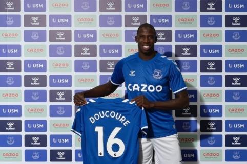 """Oficialu: """"Everton"""" pristatė dar vieną naujoką"""