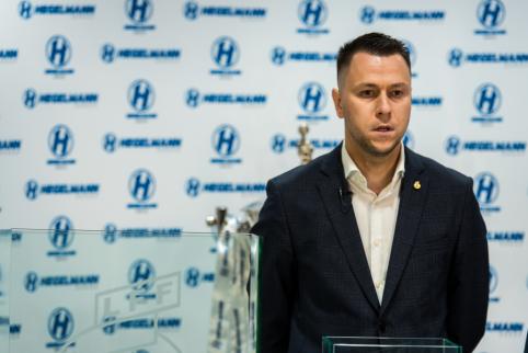 "E. Stankevičius: Apie UEFA konferencijas bei sutartis su ""Hummel"" ir BMW"