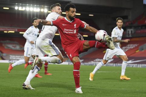 """""""Liverpool"""" sezono starte išvargo pergalę rungtynėse su naujokais"""