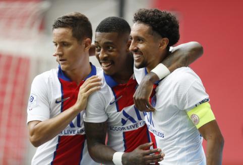 Į aikštę sugrįžęs Mbappe padėjo PSG pasiekti dar vieną pergalę