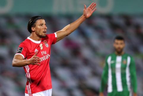 """Portugalijos žiniasklaida: """"Man City"""" – per žingsnį nuo """"Benfica"""" gynėjo įsigijimo"""