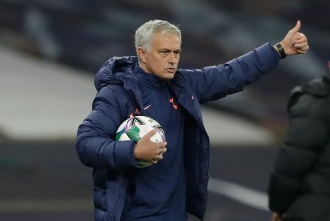 Naujausiu pirkiniu pasidžiaugęs J. Mourinho: nuveiktas fantastiškas darbas