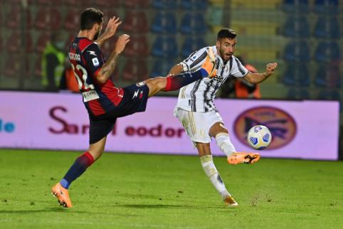 """""""Juventus"""" nesugebėjo įveikti lygos autsaiderių"""