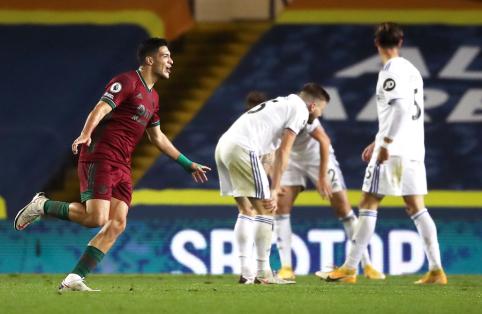 """""""Wolves"""" palaužė """"Leeds"""" futbolininkus ir nutraukė dviejų pralaimėjimų seriją"""