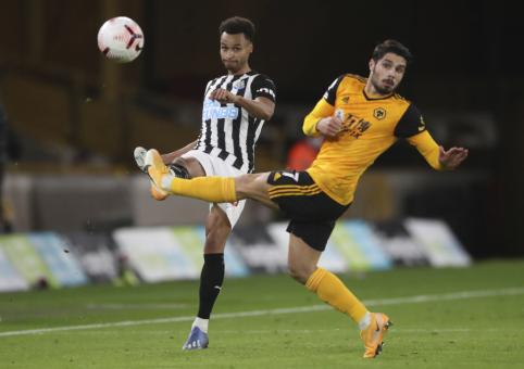"""""""Wolves"""" paskutinėmis akimirkomis prarado du taškus mače su """"Newcastle"""""""