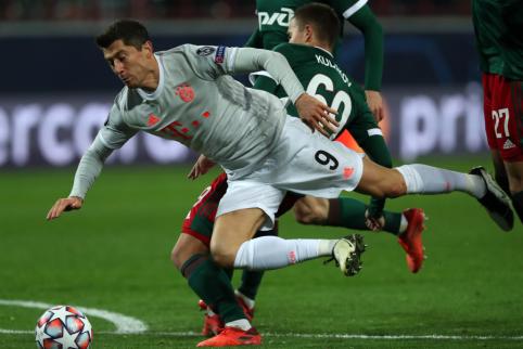 """Bayern"" išvargo pergalę Maskvoje"