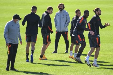 """""""Juventus"""" žaidėjams – griežta ultrų žinutė"""